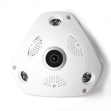 360-Camera-IP-3MP-Fish-Eye-Panoramic-1080P-WIFI-PTZ-CCTV-3D-VR-Video-IP-Kamera